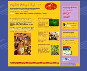 Angeline's Bakery Website Re-design